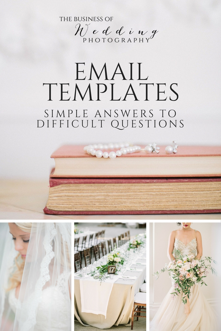 Email Templates- Simple Answers to Difficult Questions