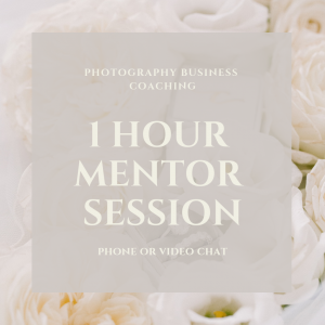 1 HOUR MENTOR SESSION (remote)