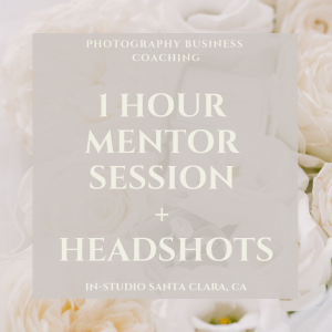 1 HOUR MENTOR SESSION + HEADSHOTS (local)