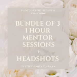 BUNDLE OF 3 MENTOR SESSIONS + HEADSHOTS